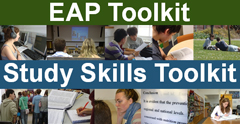 The EAP and Study Skills Toolkits
