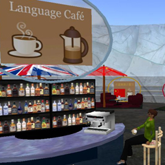 The Language Café in Second Life