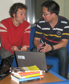 Students on the MA in ELT: Online at the University of Southampton